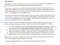 Recibió AMLO carta relacionada con el asesinato de Colosio