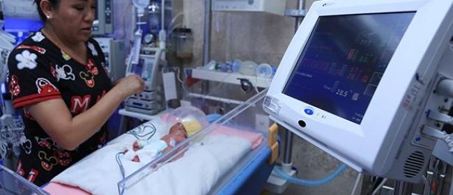Nacen quintillizos en hospital del IMSS al sur de la Ciudad de México