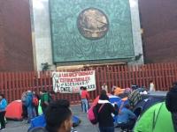 Suspenden sesión en San Lázaro por bloqueo de la CNTE