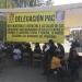 Se manifiesta trabajadores del PAC en Oaxaca