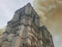 Arde la catedral de Notre Dame