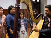 Arpa tradicional en México, instrumento nacional