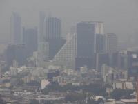 Calidad del aire de regular a mala en el Valle de México
