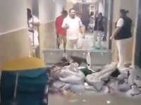 Lluvias causan afectaciones en hospitales del IMSS en Reynosa