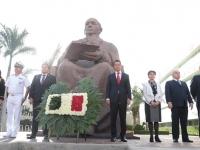Gobierno de Oaxaca conmemora el legado de Benito Juárez