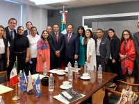 Fortalece Gobierno relación con la comunidad migrante de Nueva York