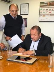 SE REÚNEN INTEGRANTES DE SUTDCEO CON EL DIRECTOR GENERAL DEL CONALEP DR. ENRIQUE KU HERRERA.